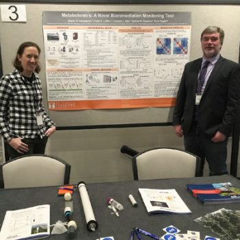 Presentation of a poster of our joint metabolomics study at the NIH's 2019 Superfund Research Program in Seattle.